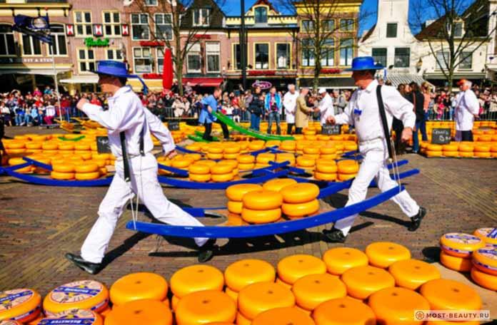 Сыр в Голландии