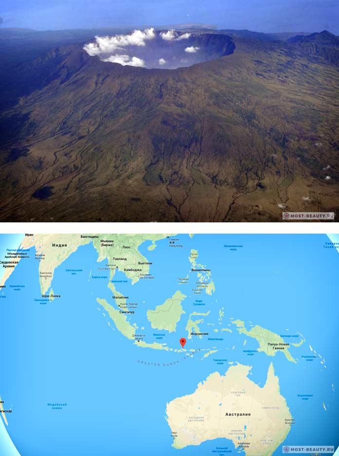 Вулкан Тамбора