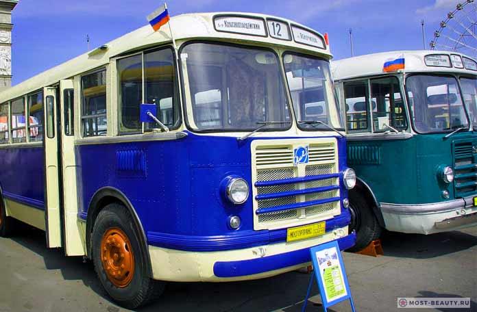 Самые красивые автобусы в СССР