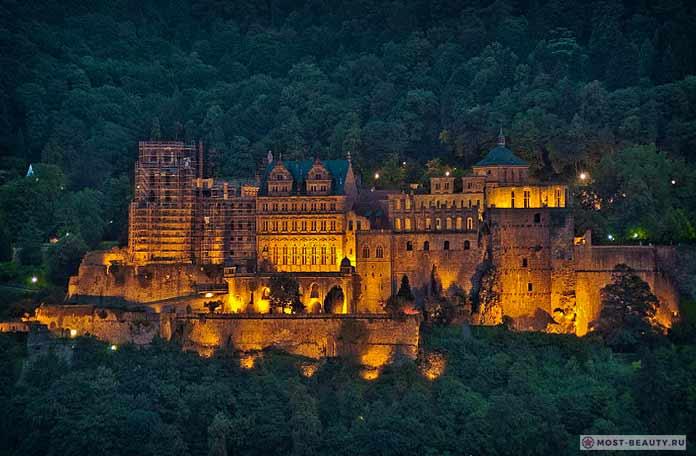 замок вГейдельберге
