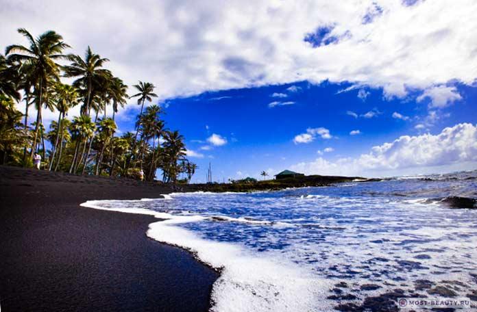 Чёрные пляжи