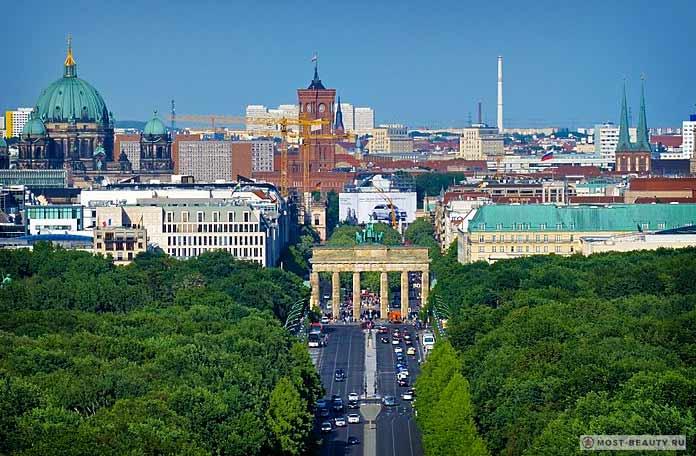 Самые популярные достопримечательности Берлина