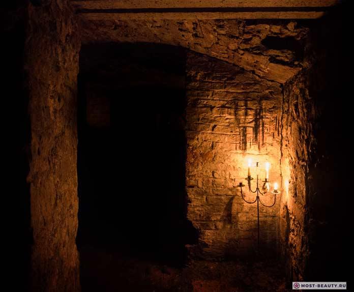 Эдинбургские подвалы, Шотландия