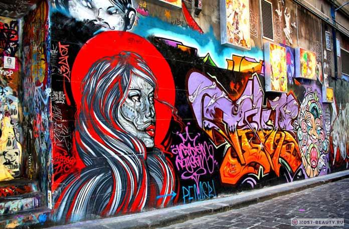 Граффити вМельбурне