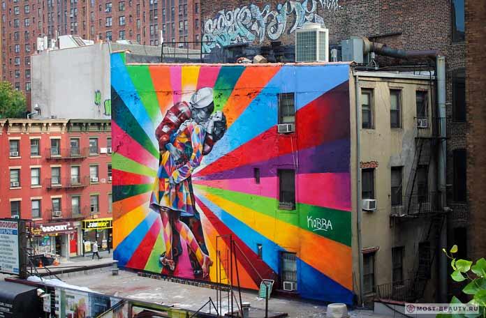 Граффити вНью-Йорке