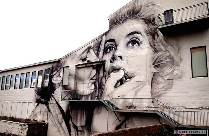 Граффити в Рейкьявике