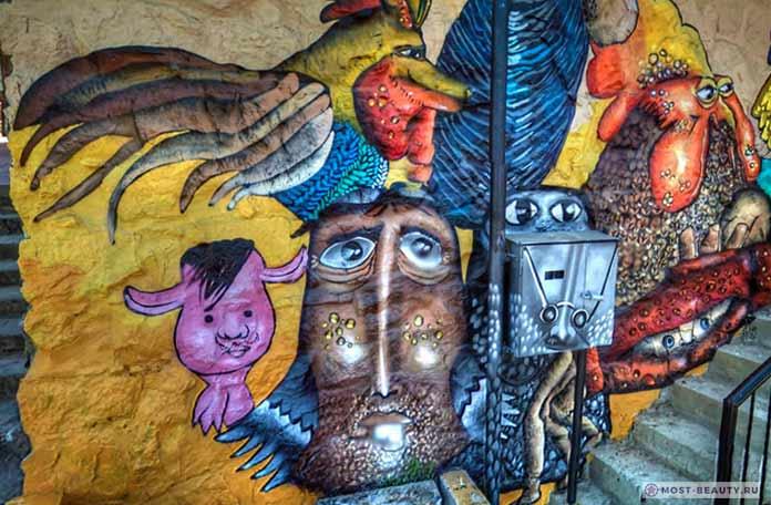 Граффити вВальпараисо