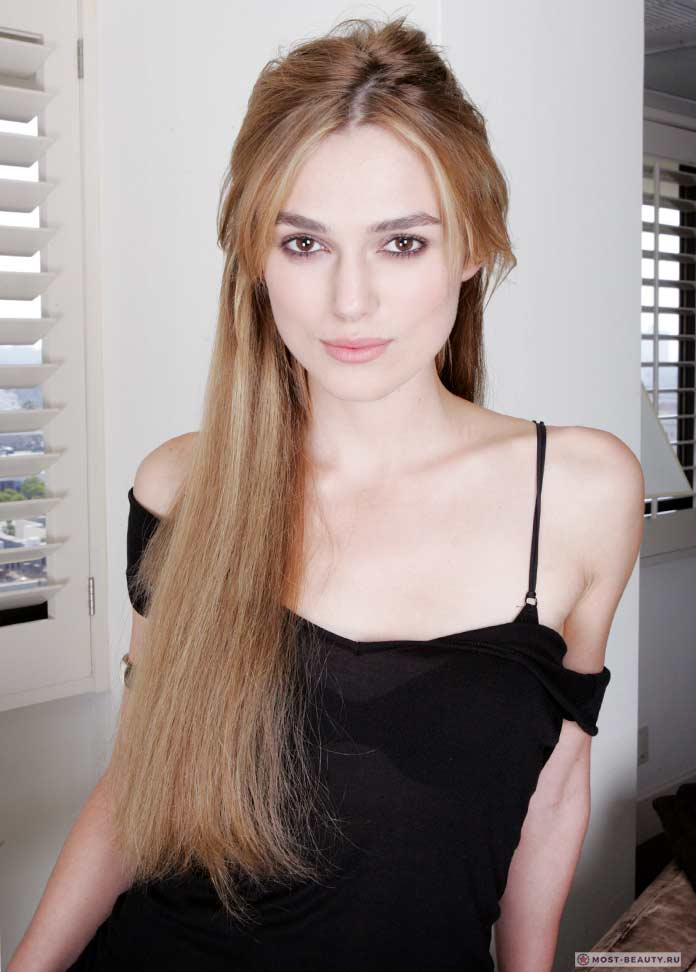 Красивая актриса Кира Найтли