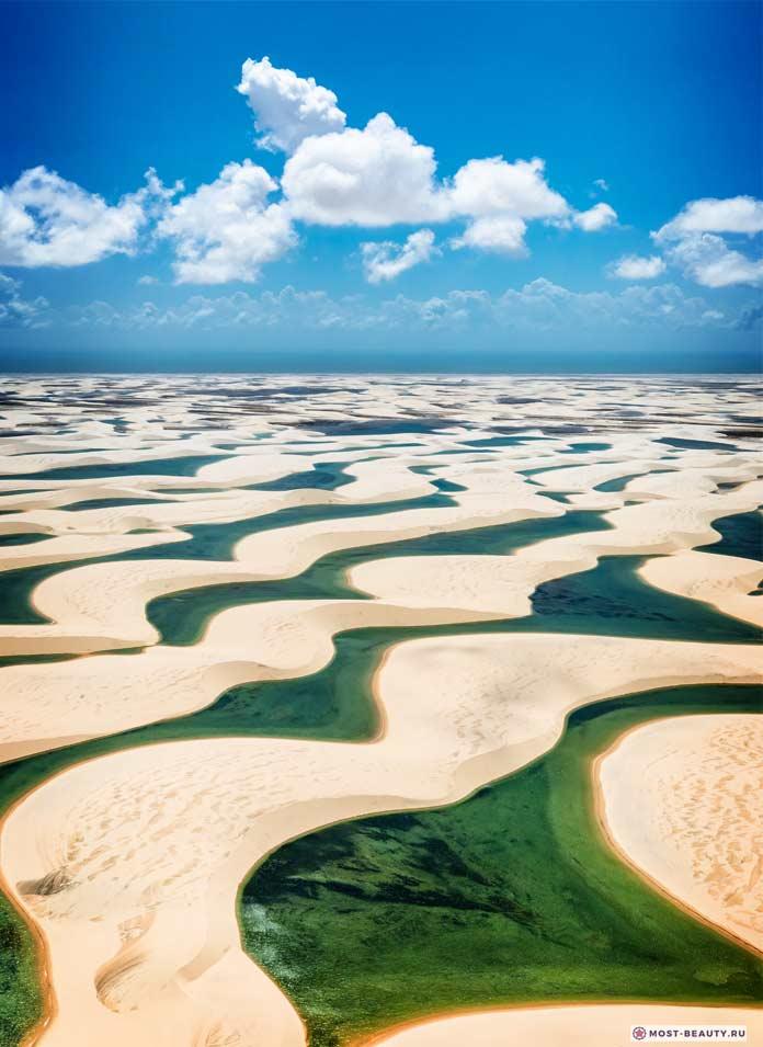 Озера в дюнах