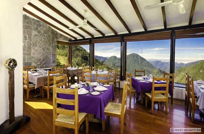 Ресторан у кратера