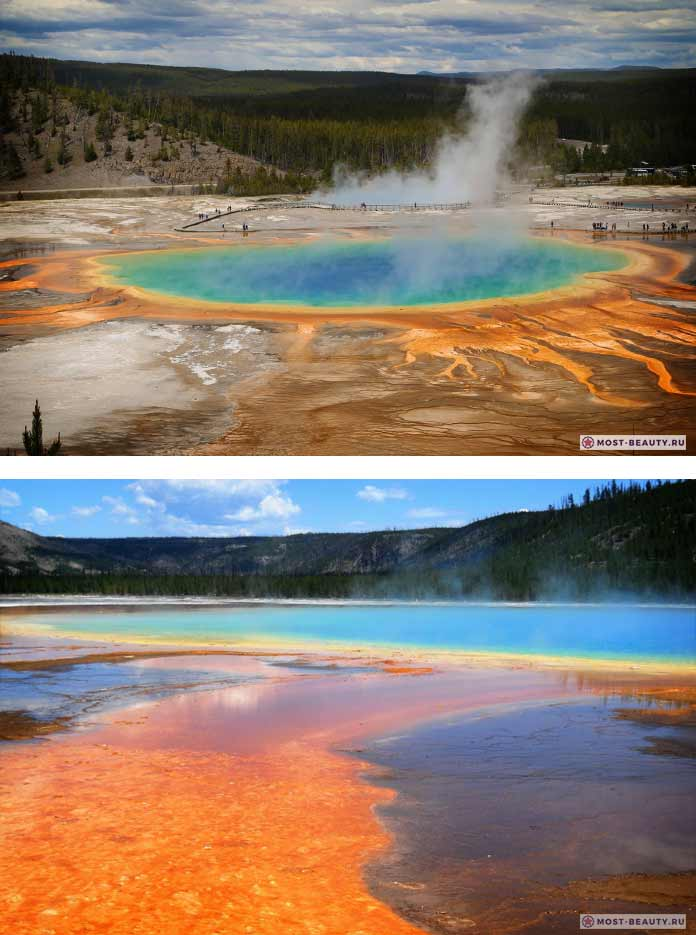 Yellowstone красивые фотографии