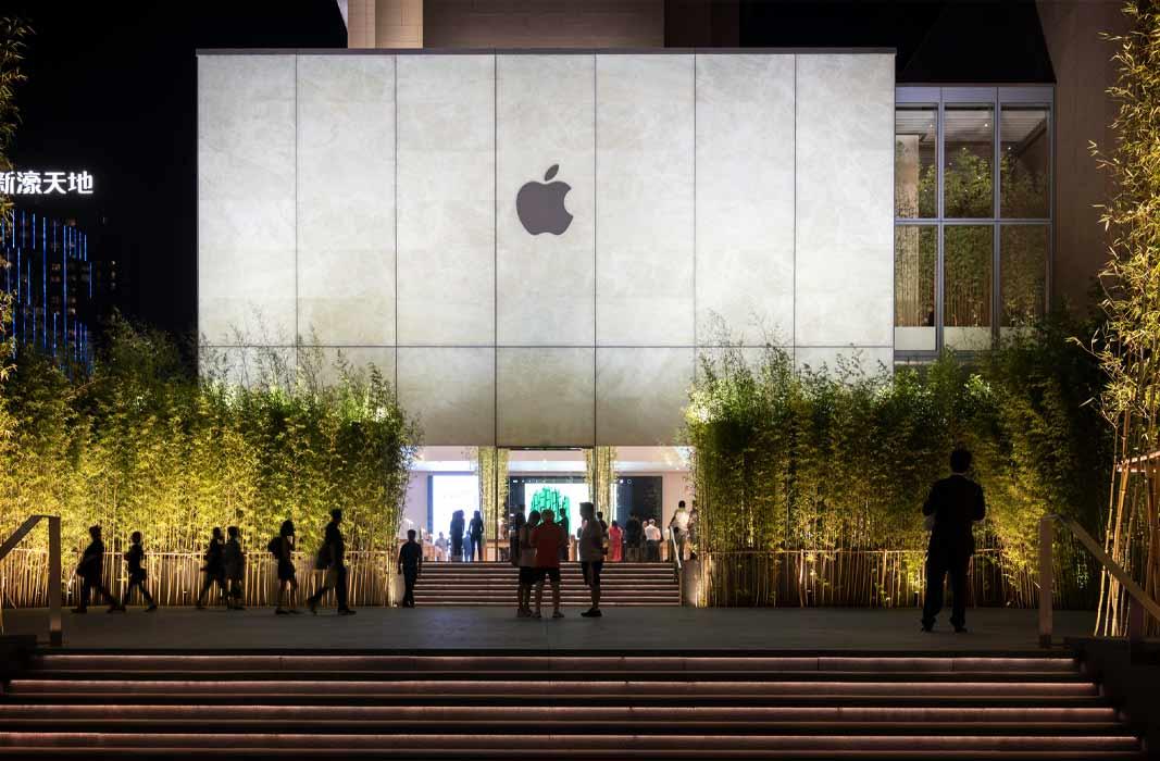 10 самых красивых магазинов Apple