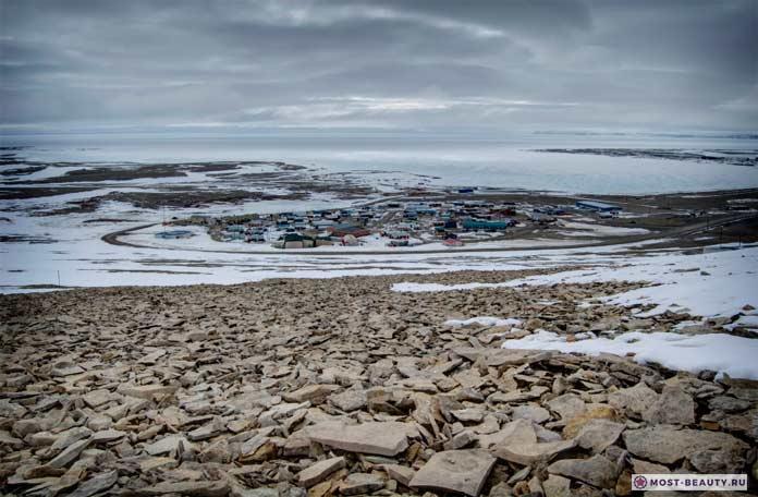 Эскимосская деревня Резольют