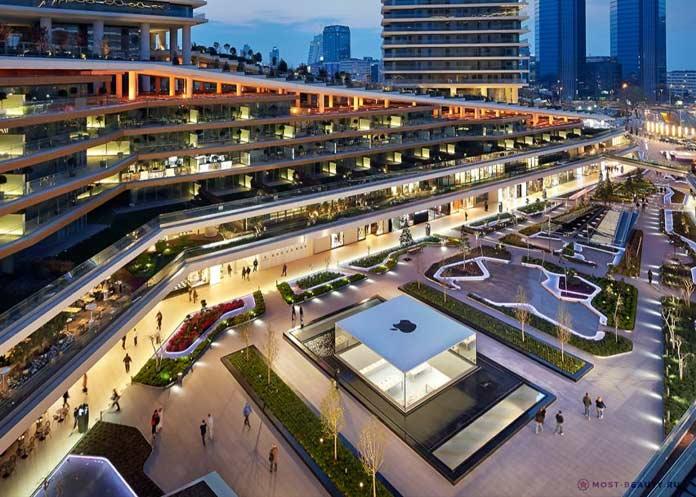 Apple Zorlu Centre, Турция