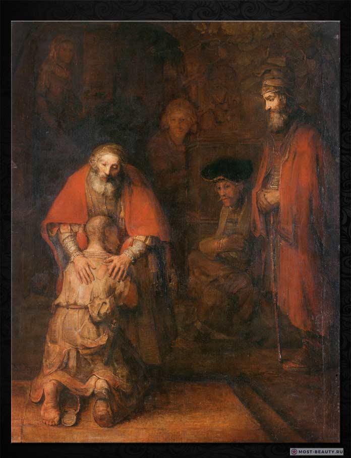 Знаменитые картины Рембрандта: Возвращение блудного сына