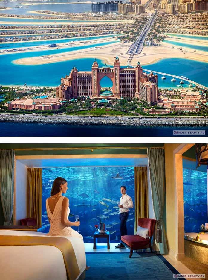 Atlantis, The Palm. 9 подводных отелей планеты