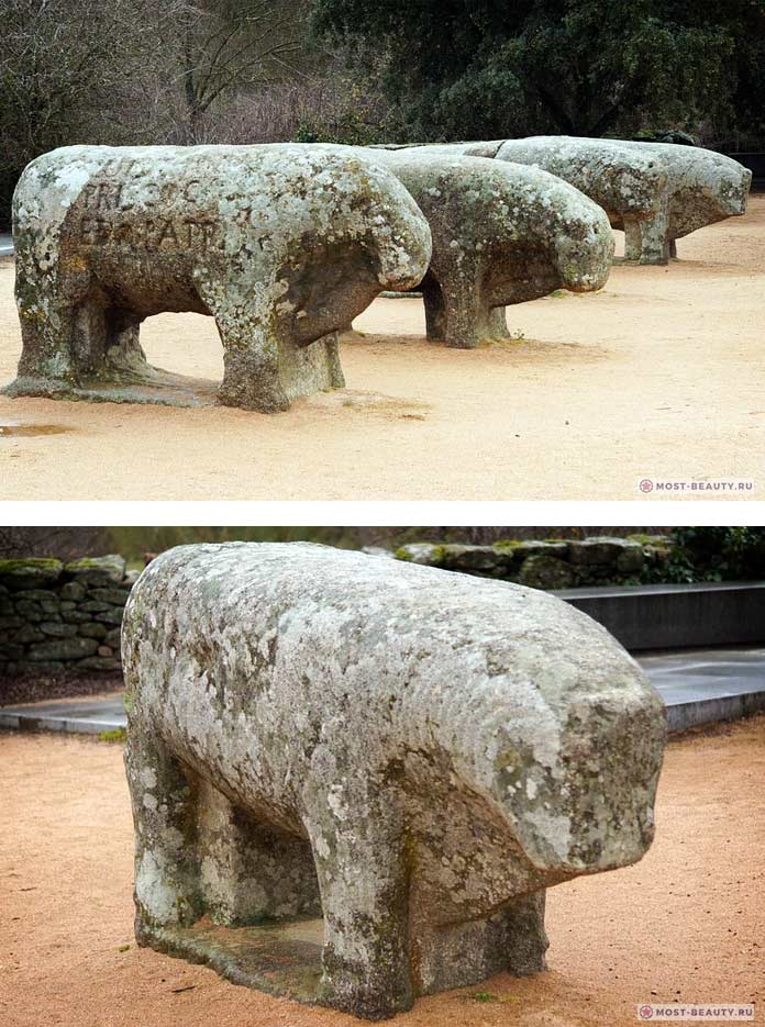 Быки Гисандо - мегалитические сооружения Португалии