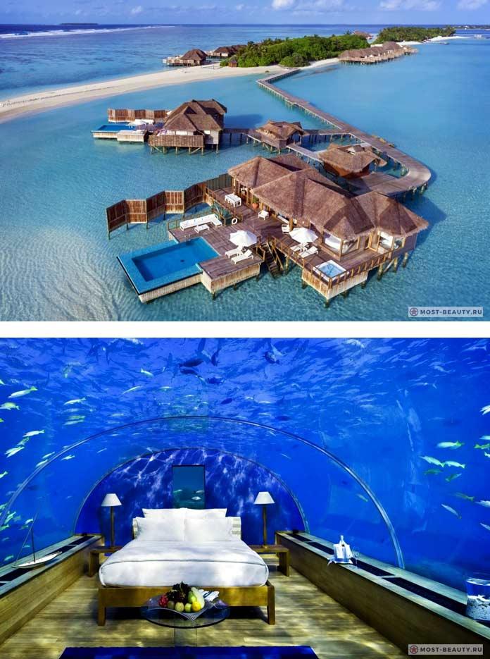 Conrad Rangali Island. Самые красивые подводные отели