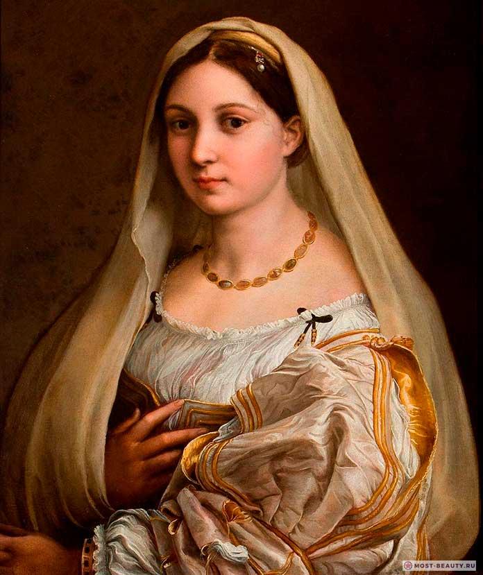«Донна Велата» (1516) — одна из прекрасных картин Рафаэля Санти
