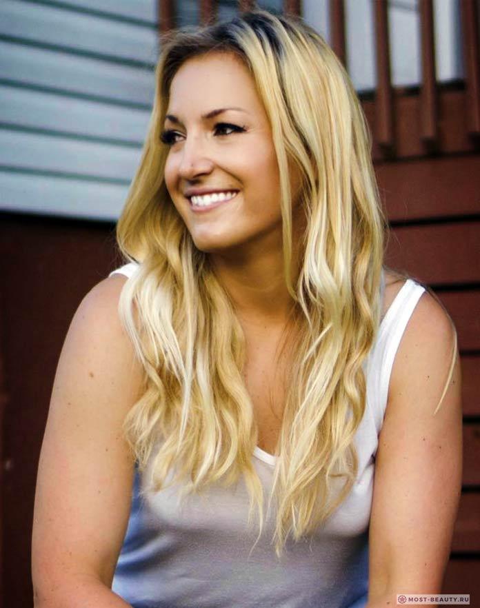 Энджела Дотчин - новозеландская блондинка