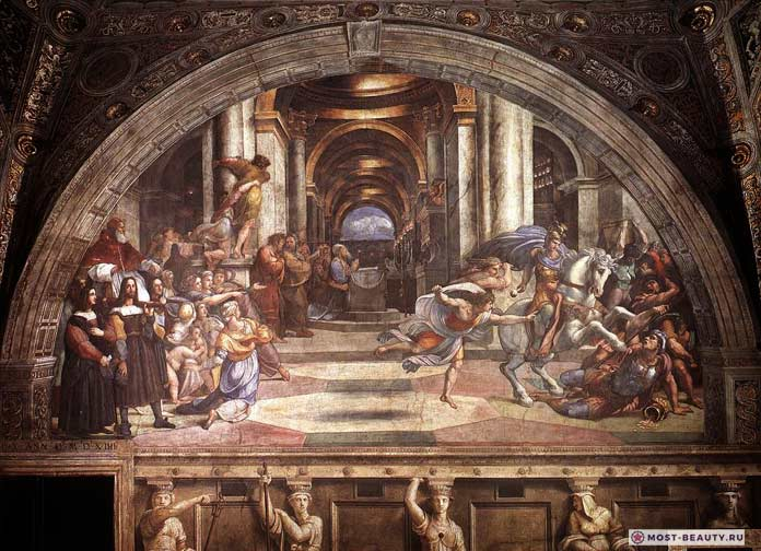 Фреска «Изгнание Элиодора» (1512)