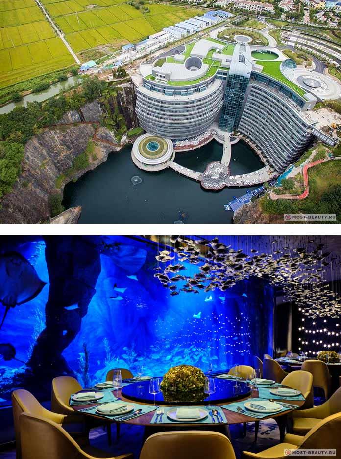 Подводный отель InterContinental Shanghai Wonderland
