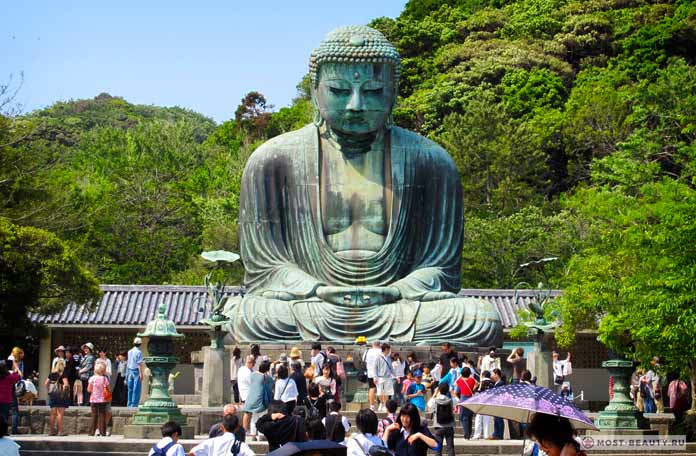Камакура Дайбуцу - одна из великих статуй Будды
