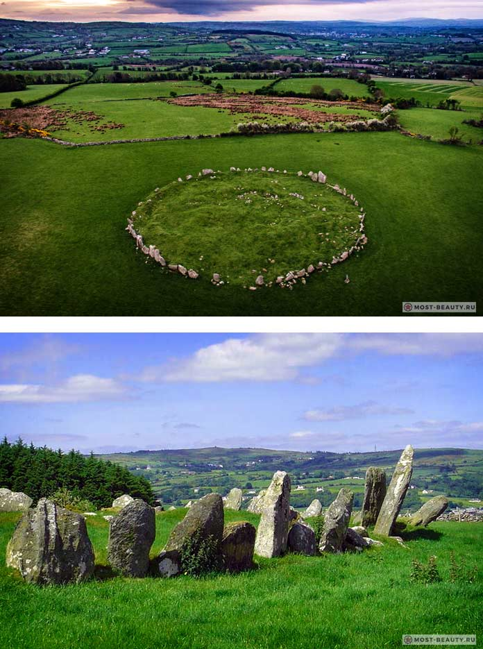 Каменный круг Белтани - загадочные мегалитические строения