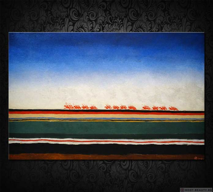 Знаменитые картины Малевича: Красная конница (1932)