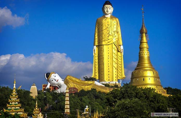 Лечжун-Сасачжа - одна из самых больших и красивых статуй Будды