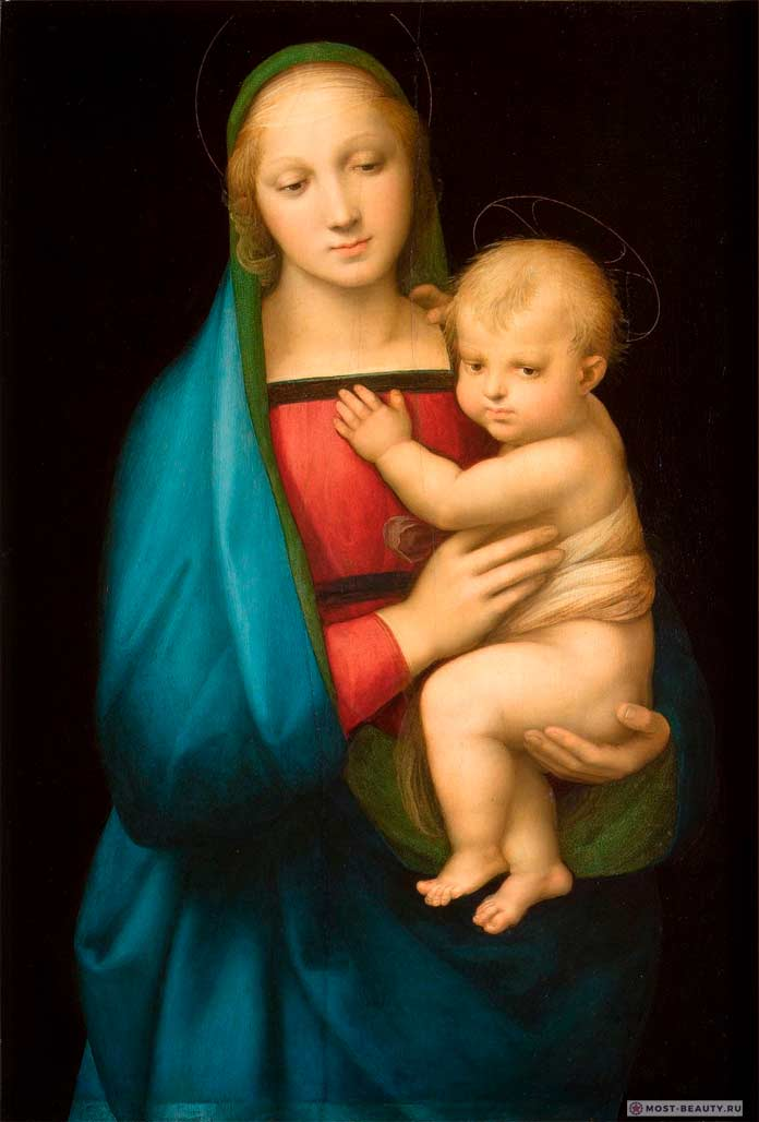 «Мадонна Грандука» (1505) — одна из Мадонн Рафаэля Санти