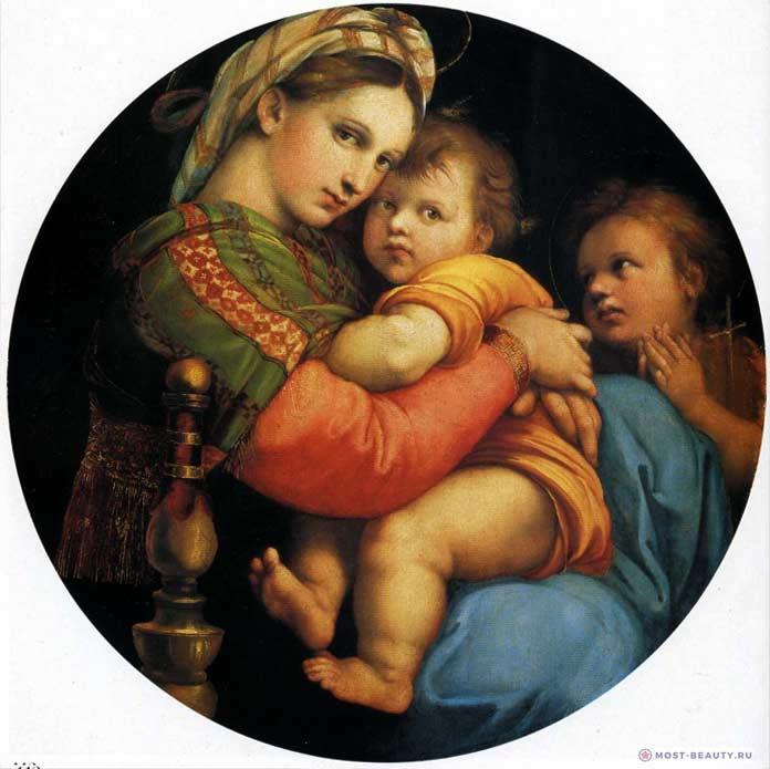 «Мадонна в кресле» (1515)