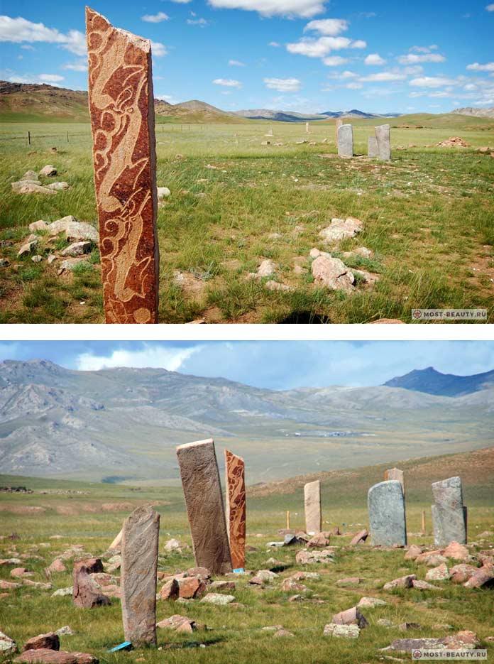 Оленьи камни - монгольские мегалитические строения
