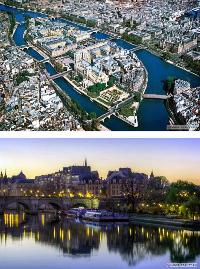 Остров Сите - удивительно красивый район Парижа