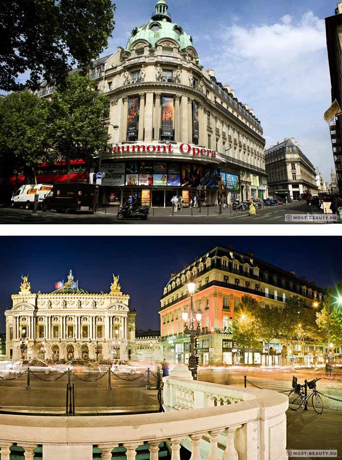 Площадь Опера - красивый район Парижа