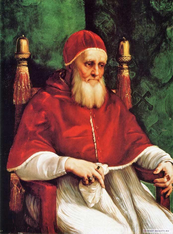 Портрет папы Юлия II (1512)