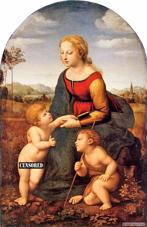 «Прекрасная садовница» (1507) — одна из картин Рафаэля Санти