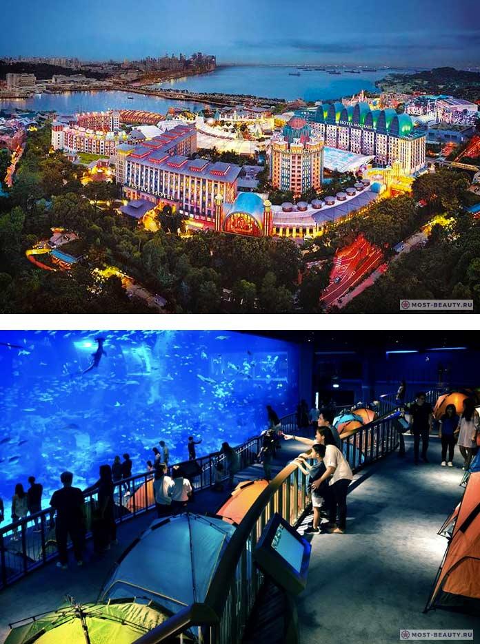 Resort World Sentosa. Список удивительных подводных отелей