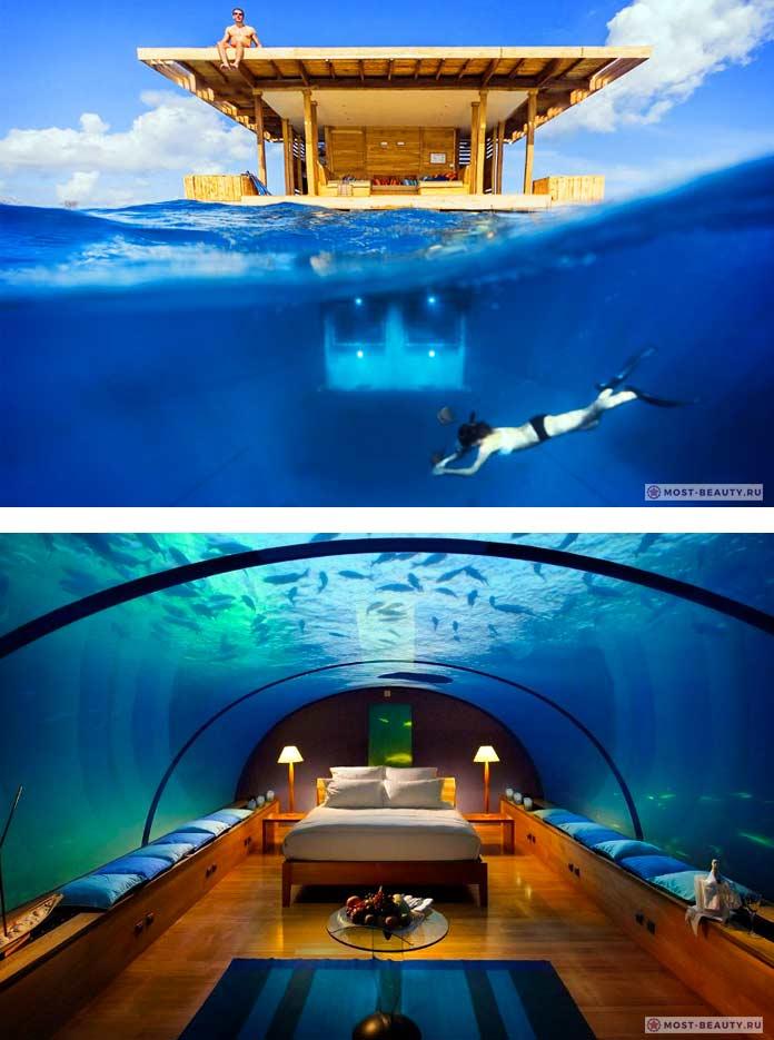 The Manta Resort. 9 лучших подводных отелей