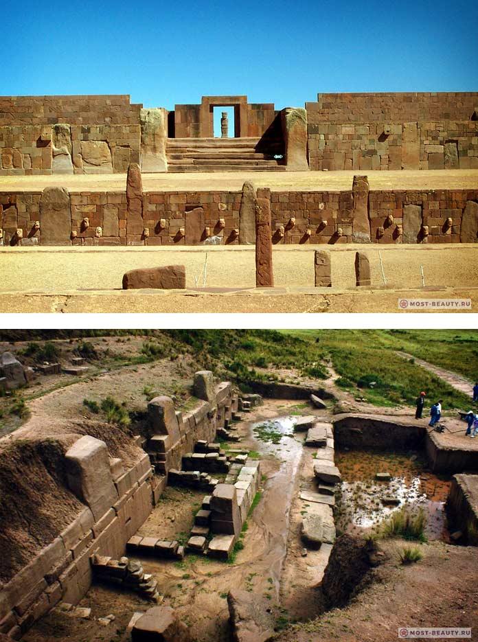 Тиунака - удивительные мегалитические строения Боливии