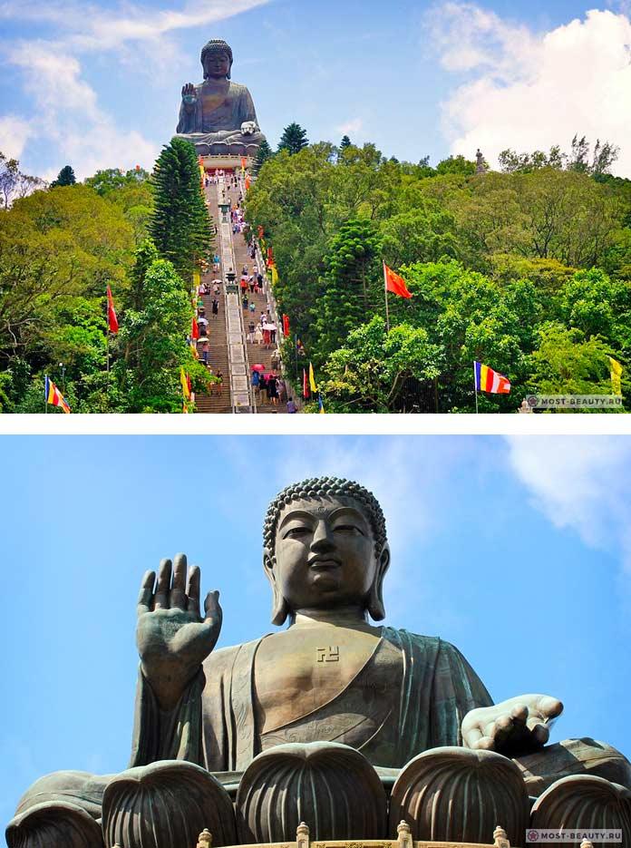 Тяньтань Будда - список самых красивых статуй Будды