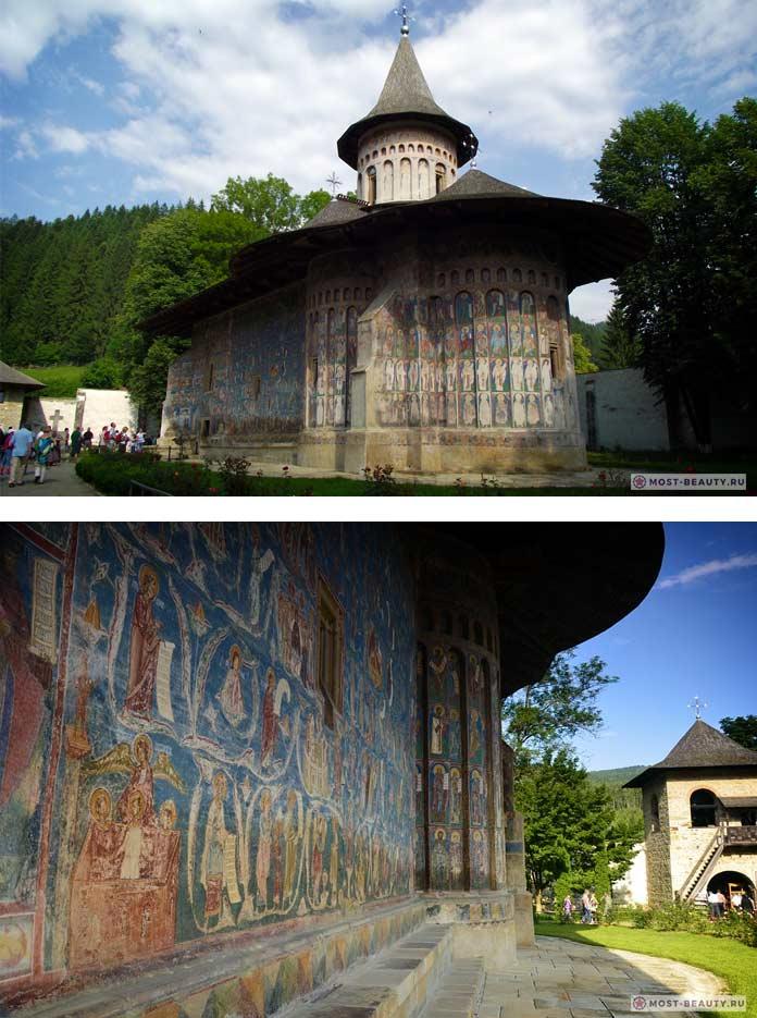 Воронецкий Монастырь - лучшие достопримечательности Румынии