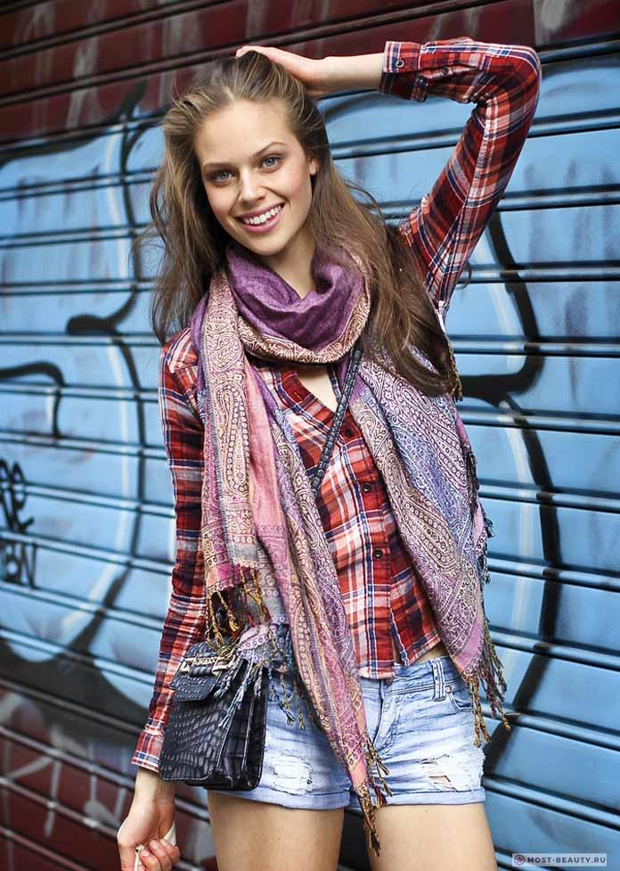 Джессика Кларк - самые красивые девушки из Новой Зеландии