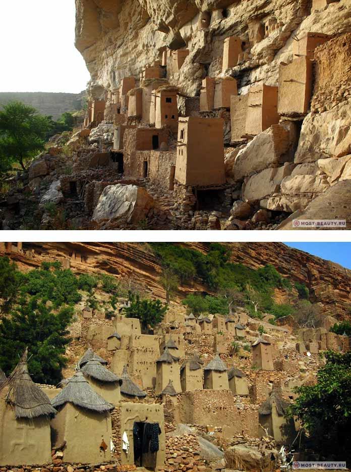 Бандиагара - один из пещерных городов