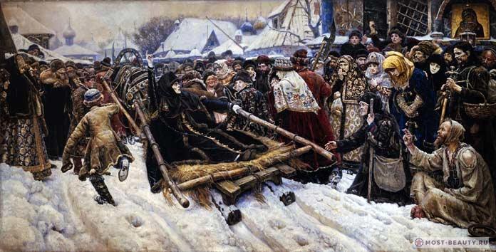 Самые знаменитые картины Сурикова: Боярыня Морозова