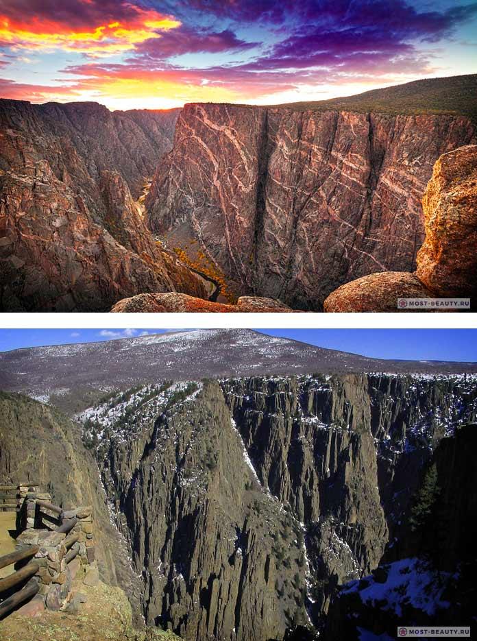 Самые красивые каньоны: Чёрный Каньон Ганнисона