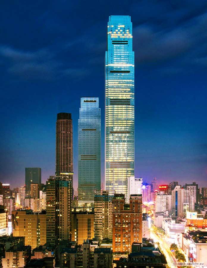 Рейтинг самых высоких зданий мира: Changsha IFS Tower T1
