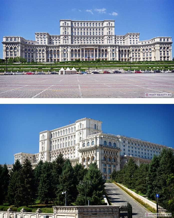 Список достопримечательностей Бухареста: Дворец Парламента
