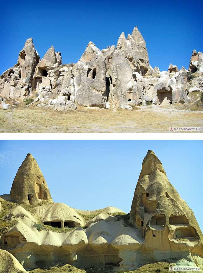 Гереме - один из пещерных городов