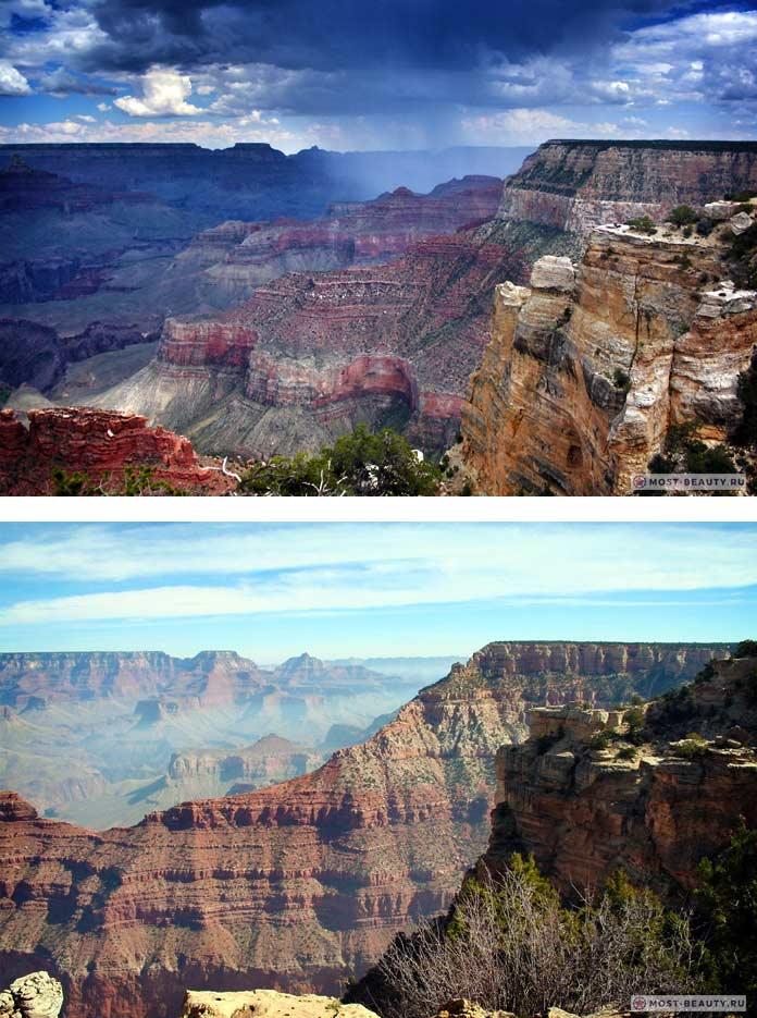 Самые красивые каньоны: Гранд-Каньон